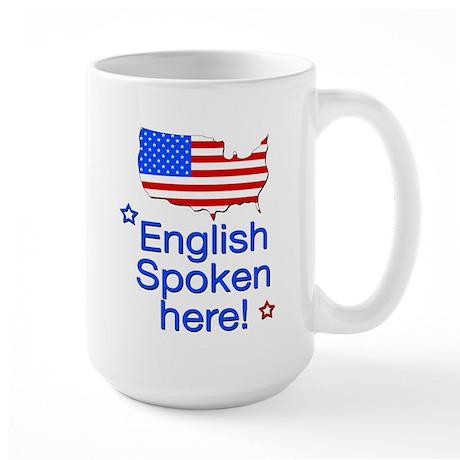 English Spoken Large Mug