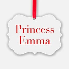 Princess Emma-bod red Ornament