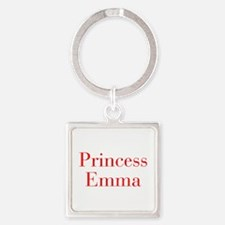 Princess Emma-bod red Keychains