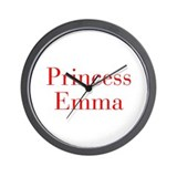 Emma and mom best friends Wall Clocks