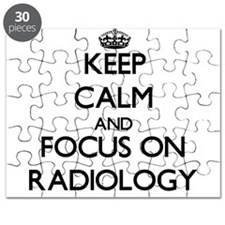 Keep Calm and focus on Radiology Puzzle