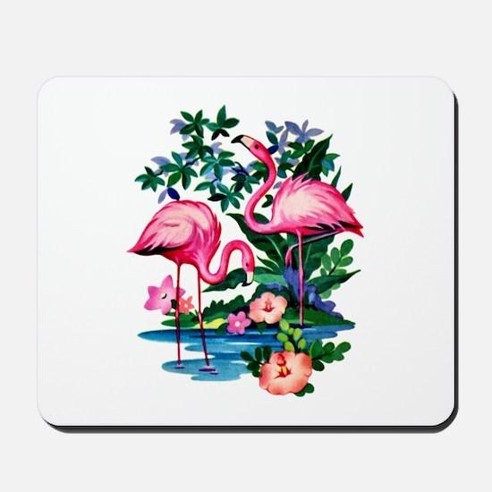 Wild Flamingos- Mousepad
