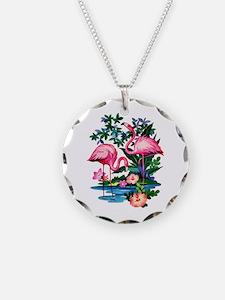 Wild Flamingos- Necklace