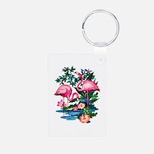 Wild Flamingos- Keychains