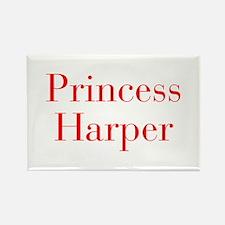 Princess Harper-bod red Magnets