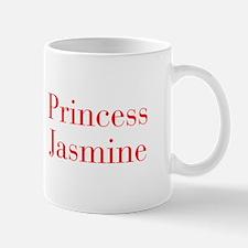 Princess Jasmine-bod red Mugs