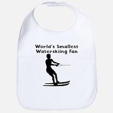 Worlds Smallest Waterskiing Fan Bib