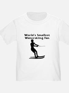 Worlds Smallest Waterskiing Fan T-Shirt