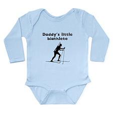 Daddys Little Biathlete Body Suit