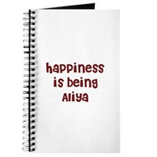happiness is being Aliya Journal