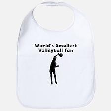 Worlds Smallest Volleyball Fan Bib