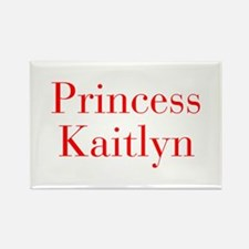 Princess Kaitlyn-bod red Magnets