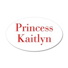 Princess Kaitlyn-bod red Wall Decal