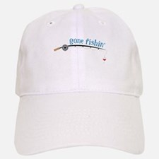 Gone Fishing Baseball Baseball Baseball Cap