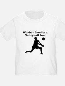 Worlds Smallest Volleyball Fan T-Shirt