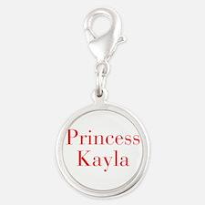 Princess Kayla-bod red Charms