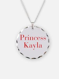 Princess Kayla-bod red Necklace
