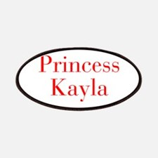 Princess Kayla-bod red Patches