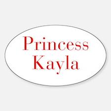 Princess Kayla-bod red Decal
