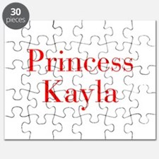 Princess Kayla-bod red Puzzle