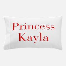 Princess Kayla-bod red Pillow Case