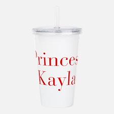 Princess Kayla-bod red Acrylic Double-wall Tumbler