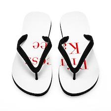 Princess Kaylee-bod red Flip Flops