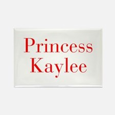 Princess Kaylee-bod red Magnets