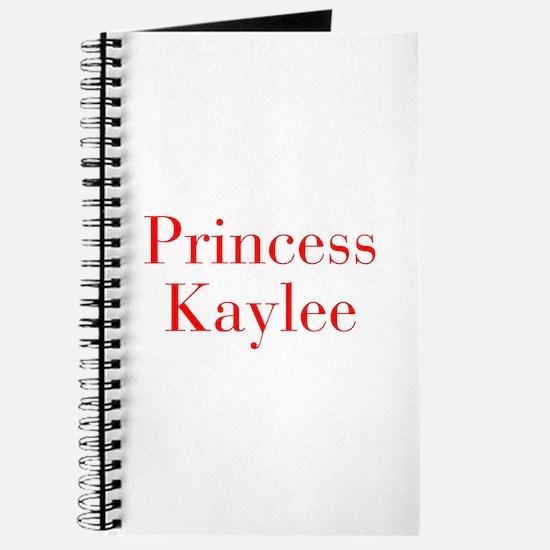 Princess Kaylee-bod red Journal