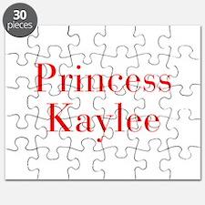 Princess Kaylee-bod red Puzzle