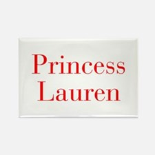 Princess Lauren-bod red Magnets