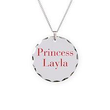 Princess Layla-bod red Necklace