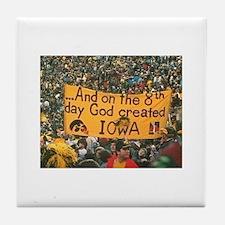 Iowa Hawkeye Photo Tile Coaster