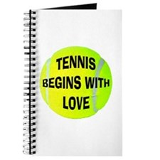 Tennis Begins With Love Journal