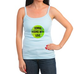 Tennis Begins With Love Jr.Spaghetti Strap