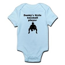 Daddys Little Baseball Player Body Suit