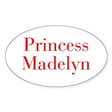 Princess Madelyn-bod red Decal