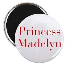 Princess Madelyn-bod red Magnets
