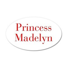 Princess Madelyn-bod red Wall Decal