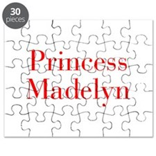 Princess Madelyn-bod red Puzzle
