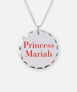 Princess Mariah-bod red Necklace