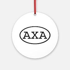 AXA Oval Ornament (Round)