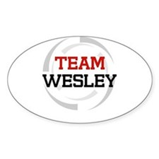 Wesley Oval Decal