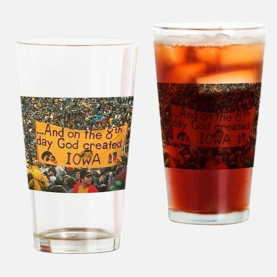 Iowa Hawkeye Photo Drinking Glass