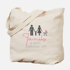 Family Gift Tote Bag