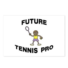 Future Tennis Pro (Boy) Postcards (Package of 8)