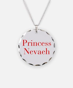 Princess Nevaeh-bod red Necklace