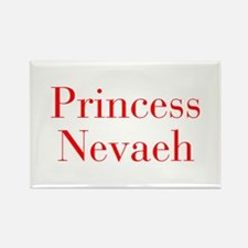 Princess Nevaeh-bod red Magnets