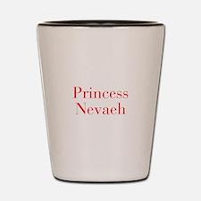 Princess Nevaeh-bod red Shot Glass