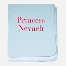 Princess Nevaeh-bod red baby blanket